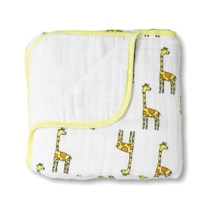 Create a Fun, Cheerful Nursery with a Yellow Baby Blanket