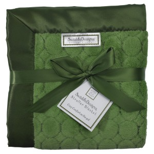 Groovy Green Baby Blankets!