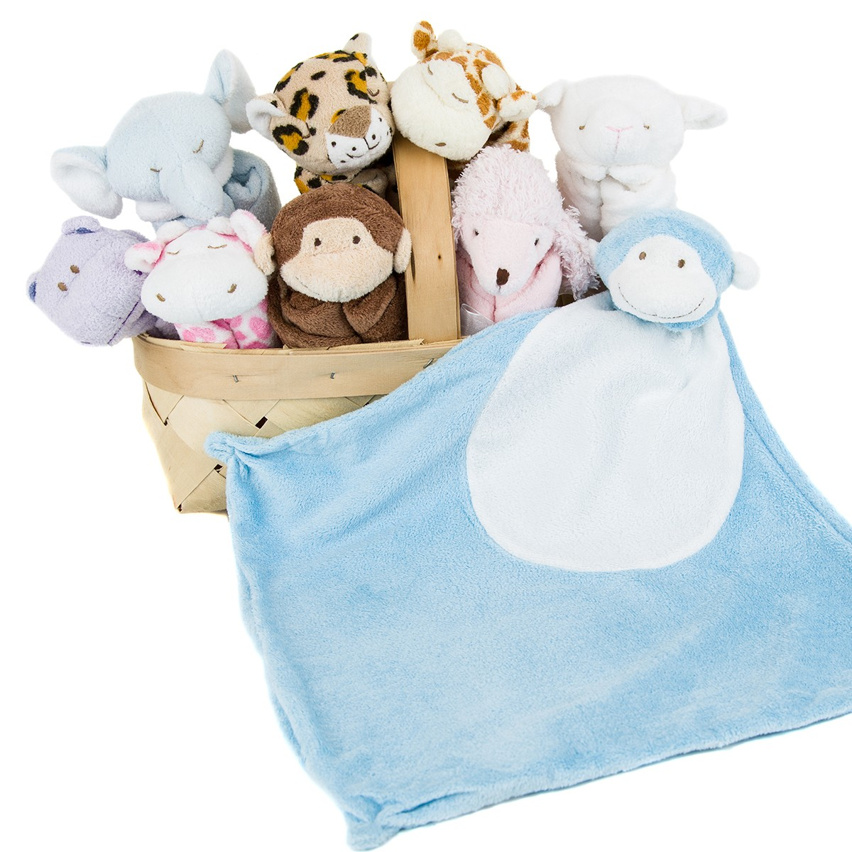 Security blankets provide soothing comfort to your baby.