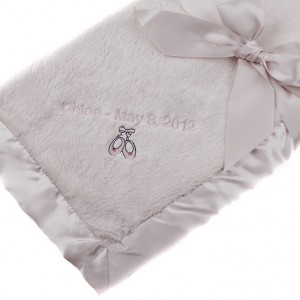 Personalized Baby Blankets for Girls | Perfectly Pink