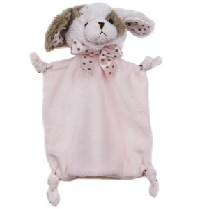Wee Wiggles Small Pink Lovey - Bearington