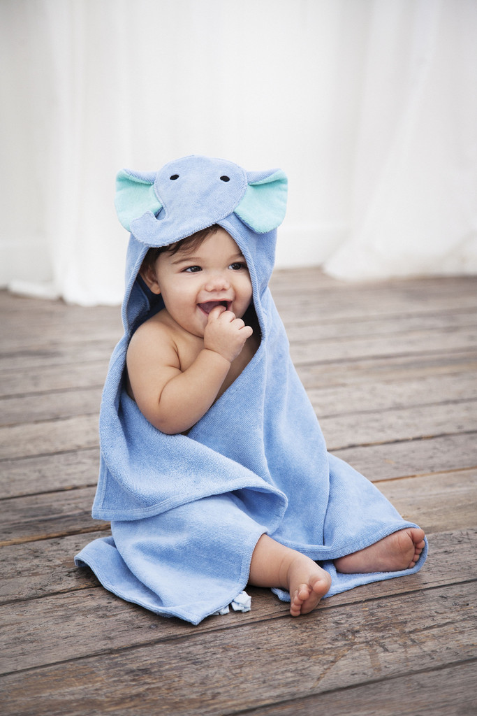 Our Favorite Hooded Bath Wraps From Elegant Baby