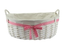 Large baby girl gift basket