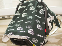New York Jets Carseat Canopy