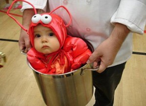 halloween costume ideas for newborns now thats a serious catch