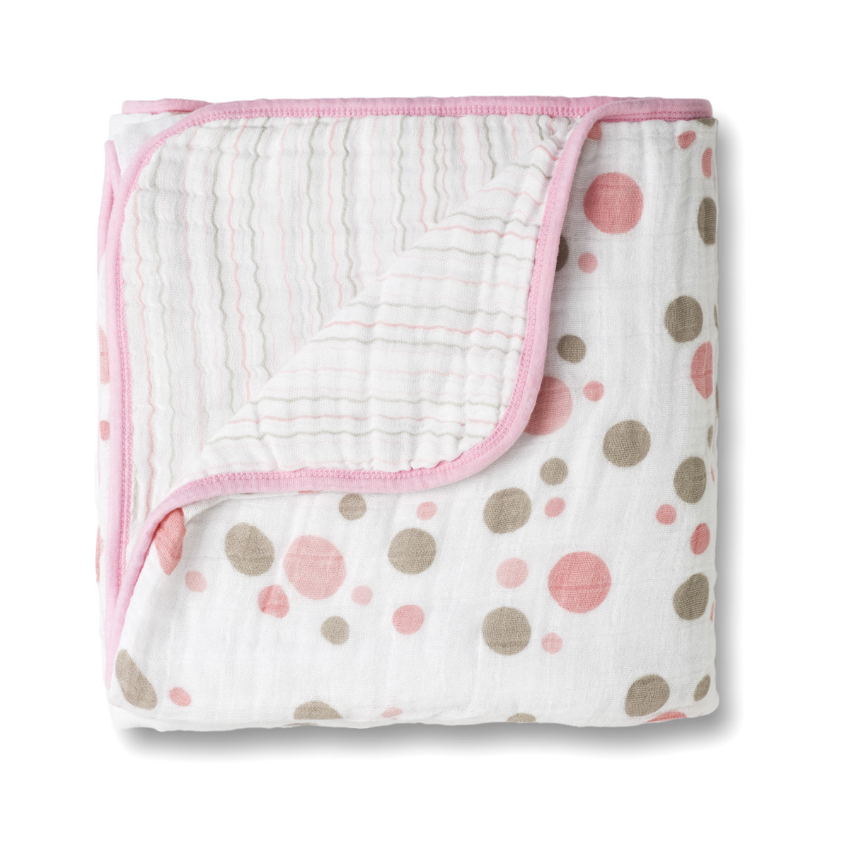 Wrap your baby up in softness with these aden by aden + anais Muslin swaddleplus Blankets. Made of soft cotton muslin, these wraps provide airflow and comfort, and come in handy in so many ways when you're at home or on the go.