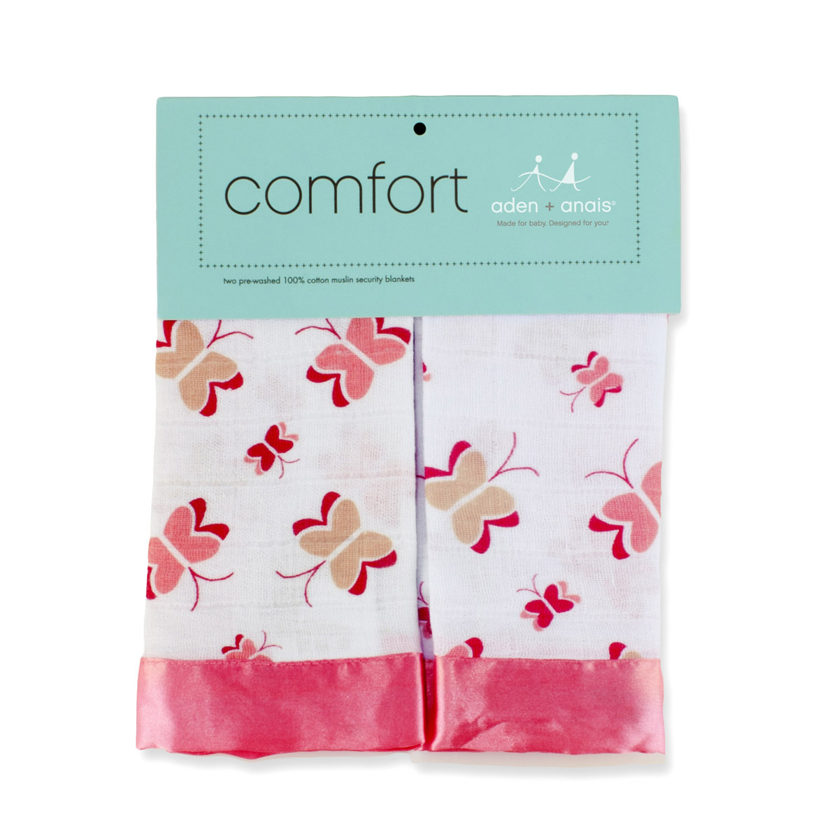 Aden Anais Security Blanket Nay Nay 2 Pack