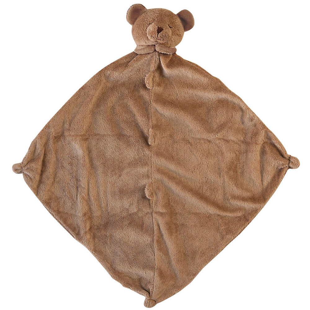Brown Bear Lovey Angel Dear Animal Blankie