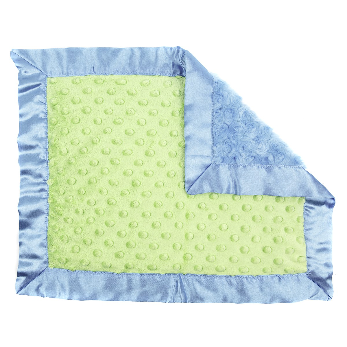 Plush And Goosebumps Baby Blankie Turquoise Green