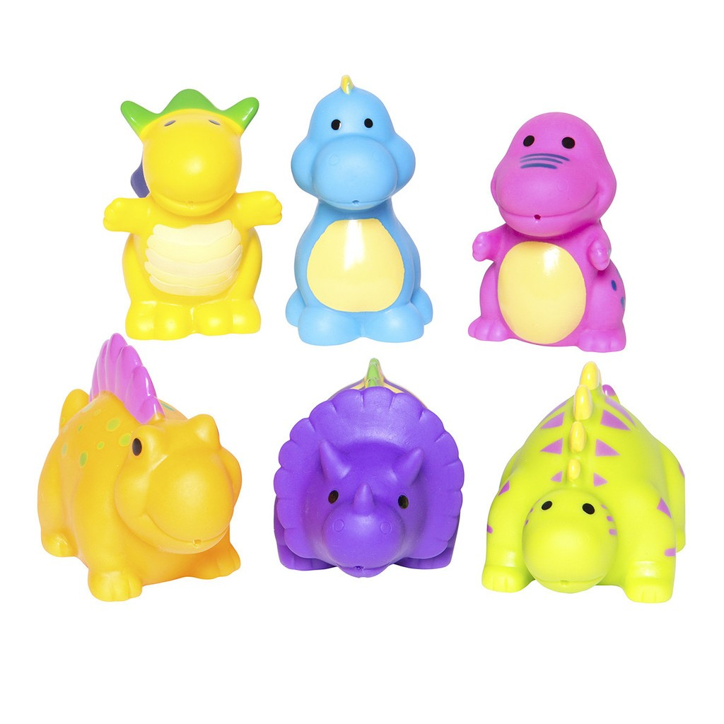Party Squirties Dinosaur Bath Toys Elegant Baby