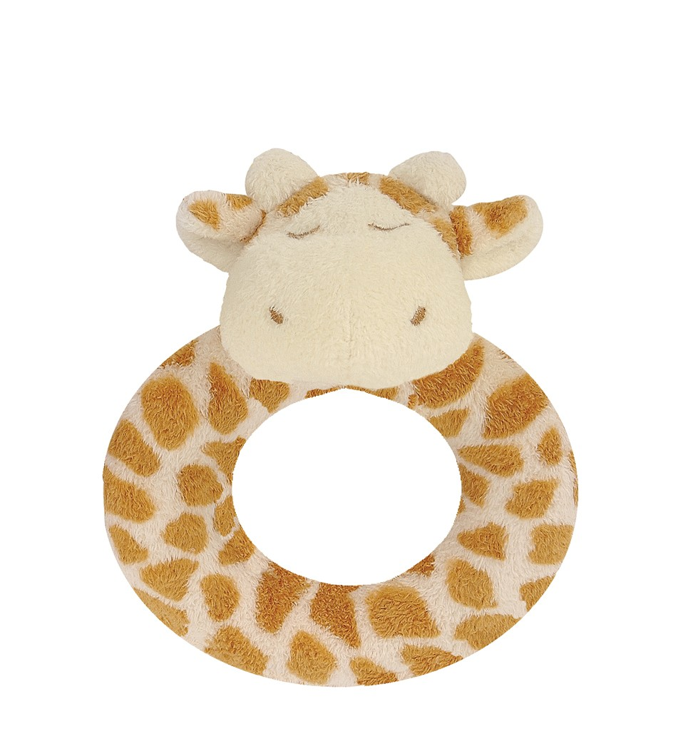 Giraffe Ring Rattle - Angel Dear