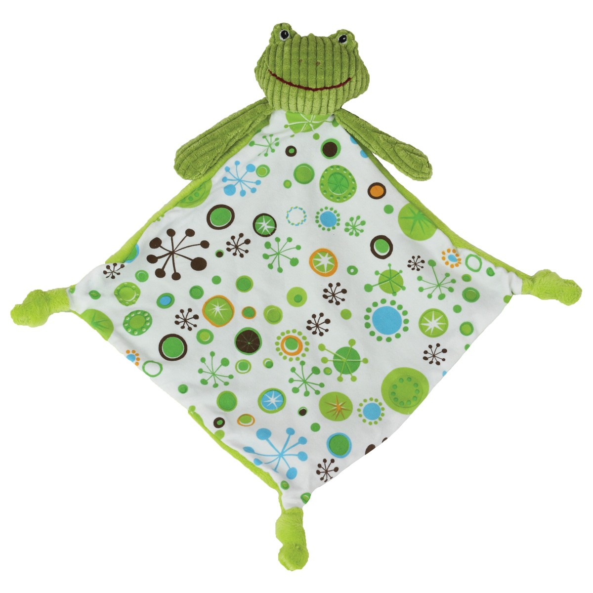 Green frog lovey for boys maison chic for Maison chic revue