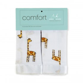 Aden + Anais Security Blanket - Duke Giraffe - 2 Pack
