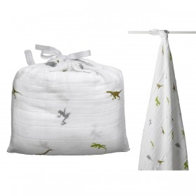 Aden + Anais Single Swaddle - Dino Roar