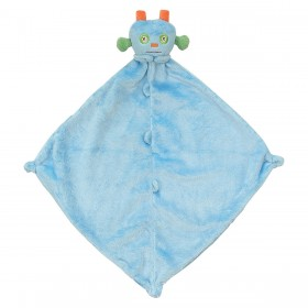 Blue Robot Lovey - Angel Dear Blankie