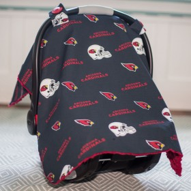 Arizona Cardinals Baby Gear: Carseat Canopy Cover, NFL Licensed