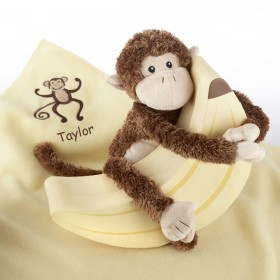 Plush Monkey Magoo Gift Set