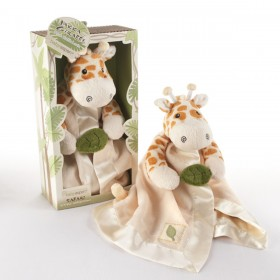 Plush Rattle Lovey - Jakka The Giraffe