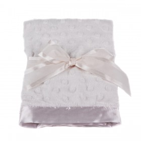 Pink Dottie Blankie - Bearington