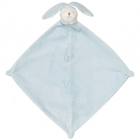 Blue Bunny Lovey - Angel Dear Animal Blankie
