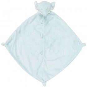 Blue Elephant Lovey - Angel Dear Animal Blankie