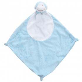 Blue Monkey Lovey - Angel Dear Animal Blankie