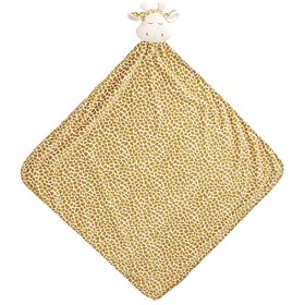 Brown Giraffe Nap Mat - Angel Dear Security Blanket