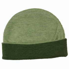 Knit Double Face Cap - Green