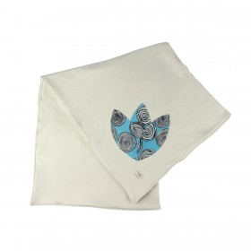 Organic Double Blanket - Blue