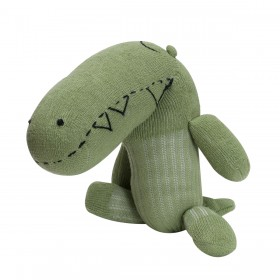 Stuffed Animal - Alligator - Green Plushy by Empress Arts