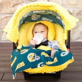 Green Bay Packers Baby Car Seat Caboodle