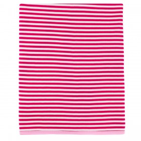 Striped Receiving Blanket - Pink
