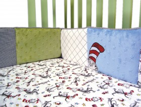 Trend-Lab Kids Dr. Seuss Cat In The Hat - Crib Bumpers