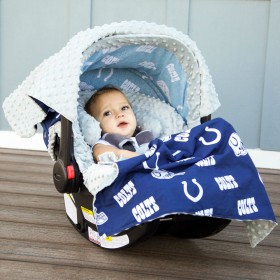 Indianapolis Colts Baby Car Seat Caboodle