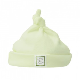 Green Knotted Baby Hat - Newborn - SwaddleDesigns