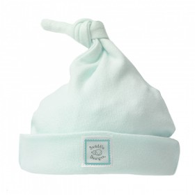 Turquoise Knotted Baby Hat - Newborn - SwaddleDesigns
