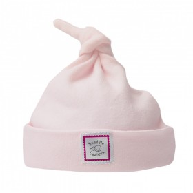 Very Berry Pink Knotted Baby Hat - Newborn - SwaddleDesigns