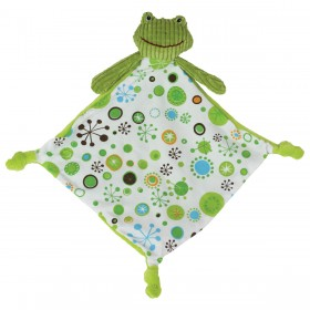Green Frog Lovey for Boys - Maison Chic