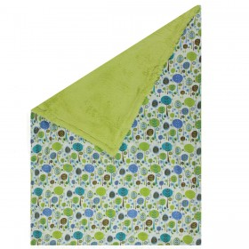 Faux Fur Baby Blanket - Lime Green - Maison Chic
