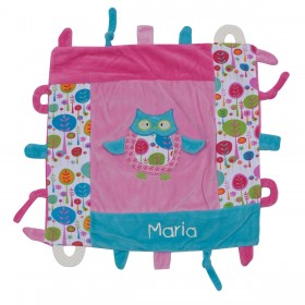 Owl Multi Function Blankie - Girl