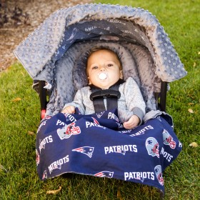 New England Patriots Baby Car Seat Caboodle