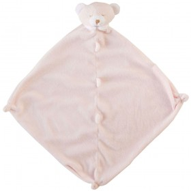 Pink Bear Lovey - Angel Dear Animal Blankie