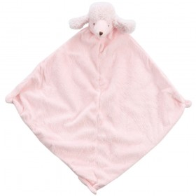 Pink Poodle Lovey - Angel Dear Animal Blankie
