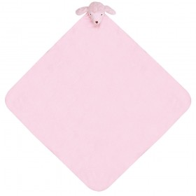 Pink Poodle Nap Mat - Angel Dear Security Blanket
