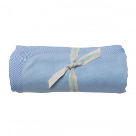 Poeme Et Poesie Double Layer Blanket - Blue