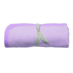 Poeme Et Poesie Double Layer Blanket - Pink