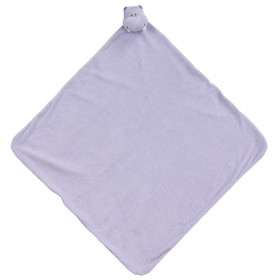 Purple Hippo Nap Mat - Angel Dear Security Blanket
