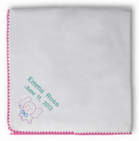 Swaddle Designs - Organic Receiving Blanket  - Pink
