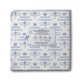 Little Prince Ultimate Receiving Blanket, Blue - SwaddleDesigns
