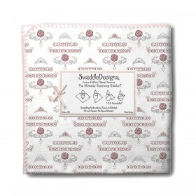 Little Princess Ultimate Receiving Blanket, SwaddleDesigns